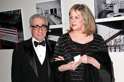 New York, NY - May 15:  The Museum of Modern Art MoMA Party in the Garden to honor Leon and Debra Black and Martin Scorsese.