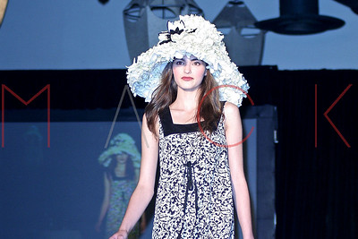 New York, NY - May 21:  Village Care of New York's 6th Annual over-the-top floral headdress fashion show.