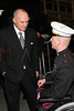 New York City Police Commissioner Raymond Kelly and U.S. Marine Andrew Kinard at The New York Comedy Festival's Stand Up For Heroes Benefit for the Bob Woodruff Family Fund at Town Hall in New York, New York.<br /> New York, NY, USA - November 7, 2007<br /> Photo by Steve Mack/S.D. Mack Pictures