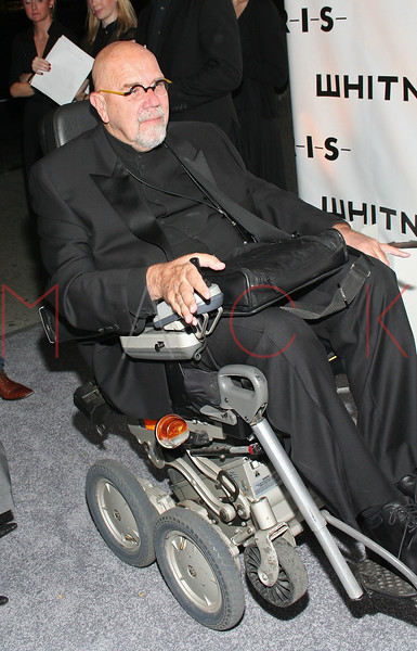 "NEW YORK - OCTOBER 22: Chuck Close attends the 2007 Whitney Museum Gala on October 22, 2007 in New York City. (Photo by Steve Mack/S.D. Mack Pictures) *** Local Caption *** Chuck Close  Note: These images are available for licensing through <a href=""http://www.filmmagic.com"" title=""FilmMagic Licensing"" target=""_blank"">FilmMagic</a> and <a href=""http://www.gettyimages.com"" title=""GettyImages Licensing"" target=""_blank"">GettyImages</a>"