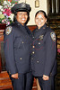 NEW YORK Ð October 7: P.O. Aisha Morales and P.O. Morillo at The 70th Precinct Medal Day and Appreciation Day Award Ceremony.  (Photo copyright 2007 by Steve Mack/S.D. Mack Pictures).