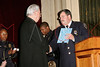NEW YORK - October 7: Father Michael Perry (Our Lady of Refuge Church of God) and Inspector Thomas J. Harris (70th Precinct Commanding Officer) at The 70th Precinct Medal Day and Appreciation Day Award Ceremony.  (Photo copyright 2007 by Steve Mack/S.D. Mack Pictures).