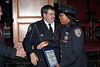 NEW YORK - October 7: Inspector Thomas J. Harris (70th Precinct Commanding Officer) and P.O. Aisha Morales at The 70th Precinct Medal Day and Appreciation Day Award Ceremony.  (Photo copyright 2007 by Steve Mack/S.D. Mack Pictures).