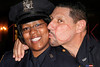 NEW YORK Ð October 7: P.O. Aisha Morales and Sgt. Augustin Morales at The 70th Precinct Medal Day and Appreciation Day Award Ceremony.  (Photo copyright 2007 by Steve Mack/S.D. Mack Pictures).