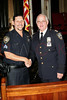 NEW YORK Ð October 7: Sgt. Augustin Morales (U.S. Dept. of Veterans Affairs Police Supervisor) and Inspector Thomas J. Harris (70th Precinct Commanding Officer) at The 70th Precinct Medal Day and Appreciation Day Award Ceremony.  (Photo copyright 2007 by Steve Mack/S.D. Mack Pictures).