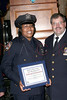 NEW YORK - October 7: P.O. Aisha Morales and Inspector Thomas J. Harris (70th Precinct Commanding Officer) at The 70th Precinct Medal Day and Appreciation Day Award Ceremony.  (Photo copyright 2007 by Steve Mack/S.D. Mack Pictures).