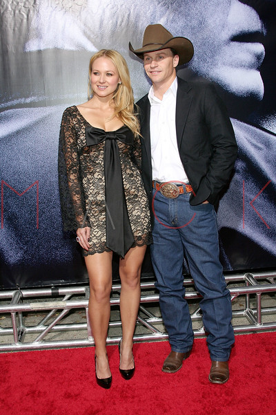 """NEW YORK - October 9: Musician Jewel and Ty Murray at The Cinema Society Presentation of """"We Own The Night"""".  (Photo by Steve Mack/S.D. Mack Pictures).  Note: These images are available for licensing through <a target=""""_blank"""" title=""""Licensing through FilmMagic"""" href=""""http://filmmagic.com"""">FilmMagic</font></a> and <a target=""""_blank"""" title=""""Licensing through Getty Images"""" href=""""http://gettyimages.com"""">Getty Images</font></a>."""