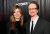 "NEW YORK - October 9: Writer/director James Gray (R) and wife Alexandra Dickson at The Cinema Society Presentation of ""We Own The Night"".  (Photo by Steve Mack/S.D. Mack Pictures).  Note: These images are available for licensing through <a target=""_blank"" title=""Licensing through FilmMagic"" href=""http://filmmagic.com"">FilmMagic</font></a> and <a target=""_blank"" title=""Licensing through Getty Images"" href=""http://gettyimages.com"">Getty Images</font></a>."