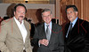 NEW YORK - October 16: Gabriel Brener, Doctor Valentin Fuster, Michael Rappaport at The installation of ""