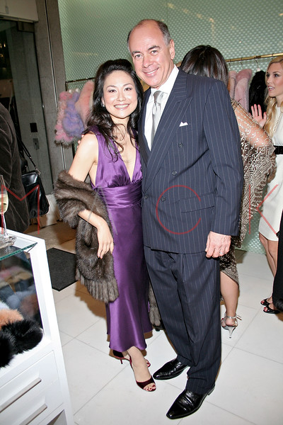 Chiaki Imai and Rick Friedberg in attendance at an Exclusive Preview of the Royal Chie 2007 Collection.  <center>New York, NY October 2, 2007 Photo: ManhattanSociety.com by Steve Mack
