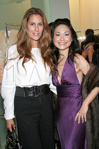 Christina Cuomo and Chiaki Imai in attendance at an Exclusive Preview of the Royal Chie 2007 Collection.  <center>New York, NY October 2, 2007 Photo: ManhattanSociety.com by Steve Mack