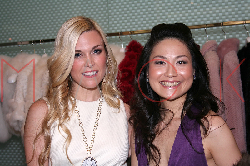 Tinsley Mortimer and Chiaki Imai in attendance at an Exclusive Preview of the Royal Chie 2007 Collection.  <center>New York, NY October 2, 2007 Photo: ManhattanSociety.com by Steve Mack