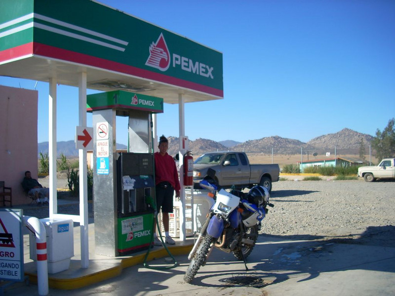 Pemex at Ojos Negros