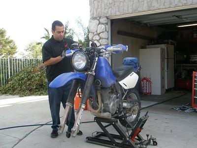 2007 Baja 1000 - Bike Prep
