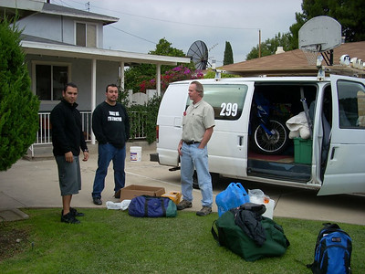 2007 Baja 1000 - Getting Ready to Leave for Ensenada