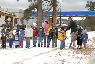 Kids' Snowboot Race