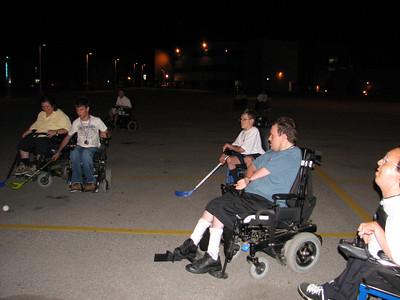 Night Time Hockey