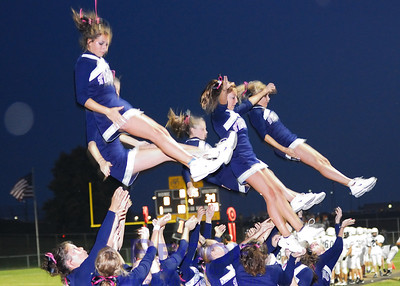 Cheerleaders - Varsity and JV - 9/21/07