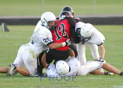 Football - Sophmore vs Huntley - 9/14/07