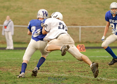 Football - Sophomore B vs Woodstock - 10/15/07