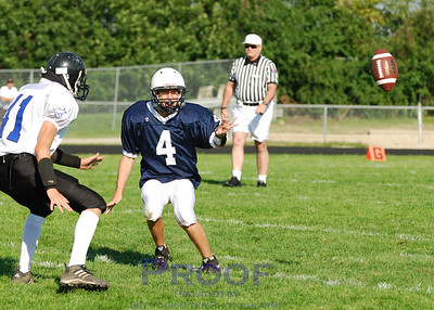 Football - Sophomore - vs. St. Charles North - 8/25/07