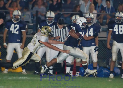 Football - Varsity - vs. Grayslake - 9/8/07