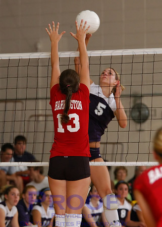Volleyball - Varsity vs Barrington - 9/5/07