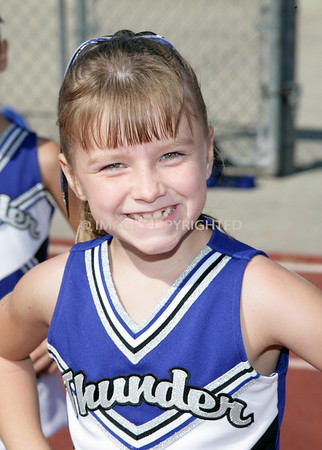 Rocklin Junior Thunder Mighty Mite Cheer