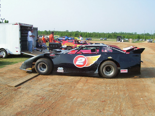 #2 Super Late Model of Virginia's Kent Wright