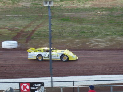 Clarys Speedway driver Danny Hudson Jr at the Colossal