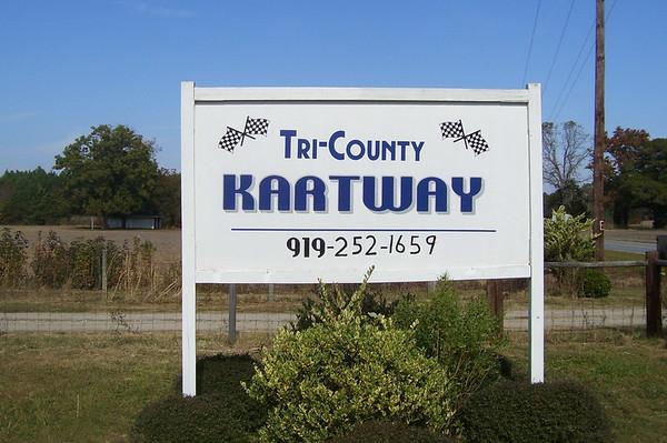 Tri County Kartway November 17, 2007
