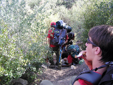 4/14/2007 - Training Hike @ Dripping Springs