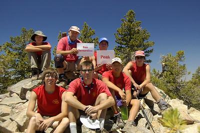 6/30/2007 - 5 Peaks Hike @ Mnt.San Gorgonio (B Team)