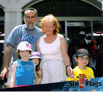 Six  Flags  Amusement Park    07-07-07    Grandchildren  Week