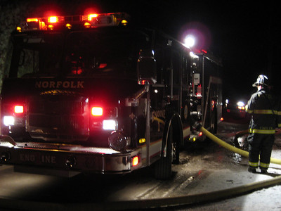 Birch Road, Millis - 2nd Alarm: February 5, 2007