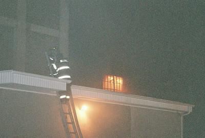 Belleville 3rd alarm Building Fire Vally Street 1-27-07