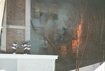 Photo's from Belleville 3rd alarm Building Fire Vally Street 1-27-07