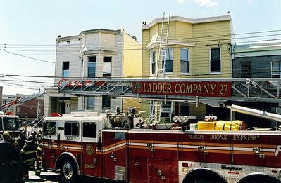 Bronx 2nd alarm  May 2007