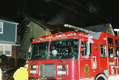 Garfield 2nd Alarm House Fire Smiell Rd. 3-7-07