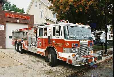 Little Ferry Fire Dept. Wetdown Engine 308 9-22-07