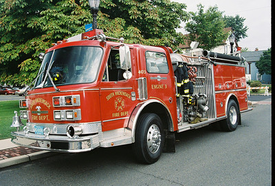 Photo's from  Little Ferry Fire Dept. Wetdown Engine 308 9-22-07