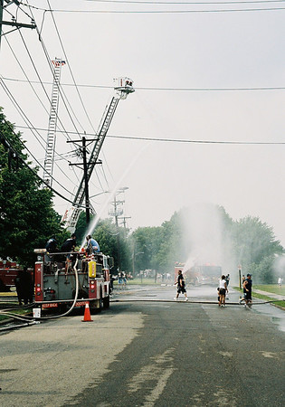 Moonachie Fire Dept. WetDown Truck 805 6-2-07
