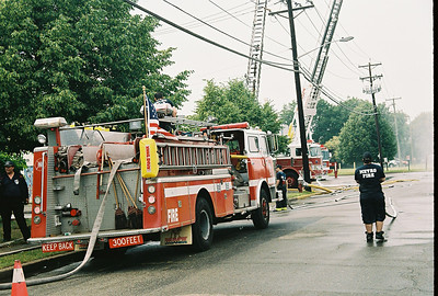 Photo's from  Moonachie Fire Dept. WetDown Truck 805 6-2-07