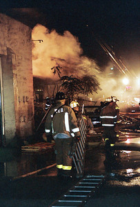 Photo's from Wallington / S.Hackensack 2nd alarm Working Fire Vacant Comm. Building 8-28-07