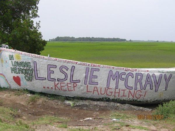 leslie mccravy 2007