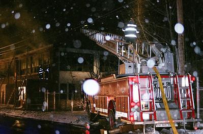"""2nd Alarm Watertown Ma. 270 Pleasant Street """"Hartz Mason"""" 03/19/07"""