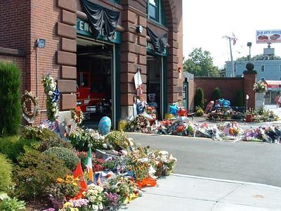 Boston Firefighter Warren Payne LODD Funeral 09/07/07
