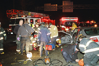 MVA Newton/Weston Ma. Route 128 South At Rt 90 (Mass Pike Exit) Dec-07