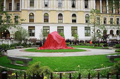 Mass Firefighter's Memorial State House 09/11/07
