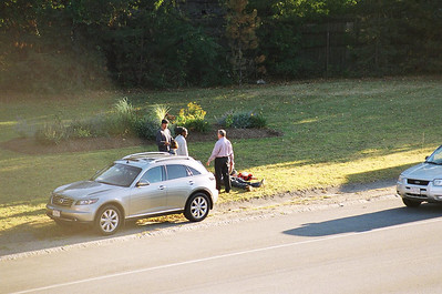 Mva/Rollover Newton Ma. Route 90 Eastbound At Commonwealth Ave 09/09/07